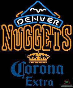Corona Extra Denver Nuggets Neon Sign NBA Teams Neon Light