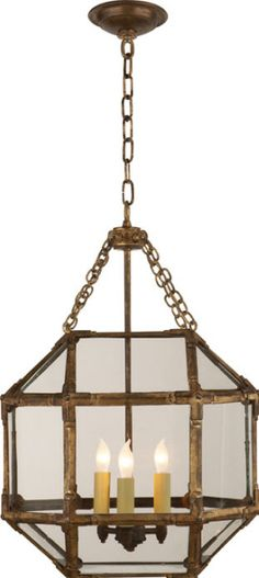 Visual Comfort's SMALL MORRIS LANTERN - we would use the larger size for the breakfast room