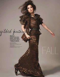 风雅秋旅-Elle台湾时装秀封面设计-奢侈的中性风格(4)