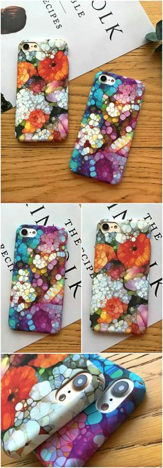 Exquisite Stone Art iPhone Case