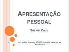 Apresentação de Susana Cruz (Santarém)