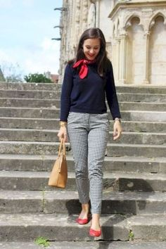 ♥ 63 best and stylish business casual work outfit for women 1 Spring Work Outfits, Casual Work Outfits, Business Casual Outfits, Office Outfits, Work Attire, Mode Outfits, Work Casual, Fashion Outfits, Womens Fashion