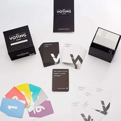 The Voting Game A game with a new concept Fun game to play with friends