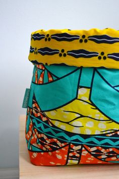 African Crafts, African Accessories, Couture, Afrikaans, Baskets, Wax, Storage, Happy, Prints