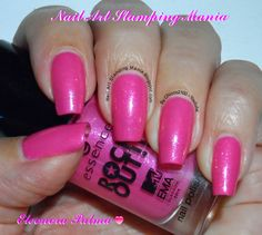 Brand: essence // Collection: Rock Out (2014) // Color: Best Pop // Blog: Nail Art Stamping Mania