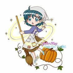 Ami (Sailor Mercury) as Cinderella