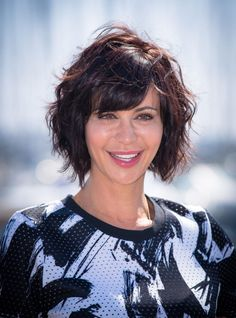 Catherine Bell attends the Good Witch photocall in Cannes