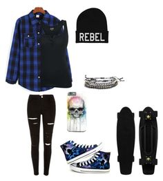 """Untitled #68"" by darksoul7 ❤ liked on Polyvore featuring Converse"