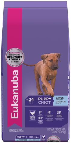 EUKANUBA Puppy Large Breed Puppy Food 33 Pounds : #DogFood