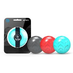 Reach speeds you have never achieved before with this new Turbo Cover for Sphero! Packed with extra friction for maximum funness!