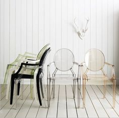 Designklassiker: Ghost Chair by Philippe Starck - multiple colors