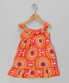 Take a look at this Pink Spectrum Dress - Infant, Toddler & Girls by Lilybird on #zulily today!