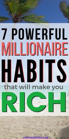 Anyone is capable of implementing these millionaire habits in your life. It is applying basic principles to reach financial success. Are you ready? Use these money management tips to improve your budget, pay off debt, and find financial freedom. Investing Money, Saving Money, Saving Tips, Financial Success, Financial Peace, Money Makeover, Become A Millionaire, How To Become Rich, Earn Money Online
