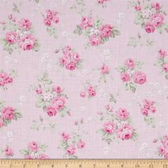Tanya Whelan Slipper Roses Wild Roses Pink from @fabricdotcom  Designed by Tanya Whelan for Free Spirit, this cotton print is perfect for quilting, apparel and home decor accents.  Colors include white, shades of green and shades of pink.