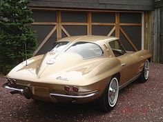 1963 Corvette- everyone needs a car from the year of their birth, right?