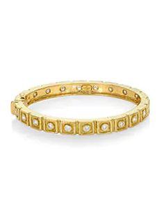 Katy Briscoe - E2 18K Yellow Gold & Diamond Embossed Bangle Bracelet Bangle Bracelets, Bangles, Cartier Love Bracelet, Emboss, Jewels, Diamond, Cuffs, Gold, Delivery