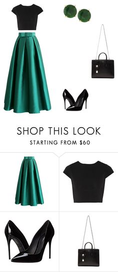 """""""Untitled #142"""" by angel000 on Polyvore featuring Chicwish, Alice + Olivia, Dolce&Gabbana, Yves Saint Laurent and Panacea"""