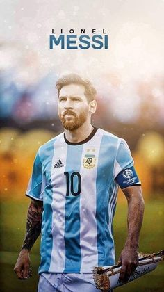 Lionel Messi is the best football player of Argentina Cristiano Vs Messi, Messi Neymar, Messi And Ronaldo, Messi 10, Messi Argentina, Argentina Football Team, Messi Pictures, Football Pictures, Messi Tattoo