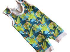 Baby - Strampler kurz aus Bio - Jersey von Me Kinderkleidung auf DaWanda.com