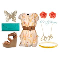 Cute on a Budget, created by #theluckymama on #polyvore. #fashion #style Charlotte Russe J.Crew