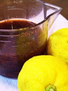 簡単!自家製ぽん酢作り方。ゆず・レモン等
