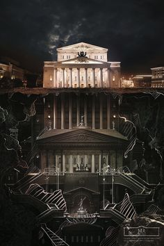 Fantastic Museum Ads Reveal Secret Structures Inside Iconic Landmarks In Russia