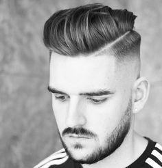 The Hard Part Haircut Ideas 2017 Hard Part Haircut, Boys Fade Haircut, Short Fade Haircut, Taper Fade Haircut, Short Hair Cuts, Undercut Designs, Mens Hairstyles Fade, Crown Hairstyles, Cool Haircuts