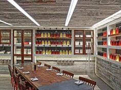DC Resto Gets Dose of Barnyard Humor. #design #interiordesignmagazine #interiors #projects #restaurant #farmersfishersbakers