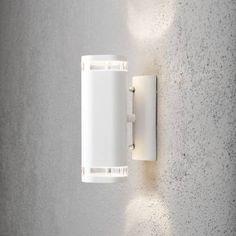 Seinävalaisin 7512-250 Modena ylös/alas valkoinen