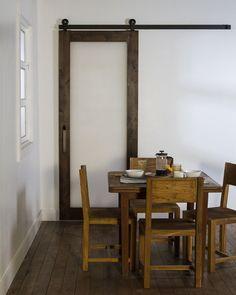 Single Pane Acrylic Barn Door