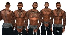 melinda carter is creating sims 4 cc Sims 4 Men Clothing, Sims 4 Male Clothes, Sims 4 Hair Male, Sims 4 Toddler Clothes, Sims 4 Black Hair, Sims 4 Teen, Sims Four, Sims Cc, Sims 4 Body Mods