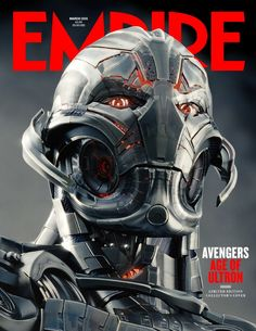 AVENGERS: AGE OF ULTRON — 2 Magazine Covers and 8 Scanned Images — GeekTyrant