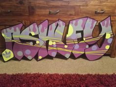 Ashley - www.ceespray.co.uk Bespoke and contemporary graffiti inspired handmade artwork