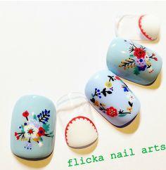 Manicure Warmers- Why They are Handy Really Cute Nails, Cute Nail Art, Pretty Nails, Spring Nails, Summer Nails, Bohemian Nails, Kawaii Nails, Japanese Nail Art, Flower Nail Art
