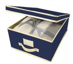 Set 2  scatole porta biancheria in tnt...