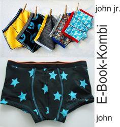 E-Book für Männer-Pants, Mode nähen / diy sewing instruction for men slips made by schnittreif via DaWanda.com