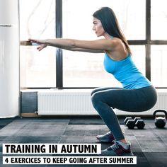 Après l'été on ne laisse pas tomber - Découvrez les 4 exercices pour rester en forme après l'été sur www.rosportlife.com