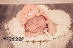 Ravelry: Ashlyn Baby Bonnet pattern by Crochet by Jennifer
