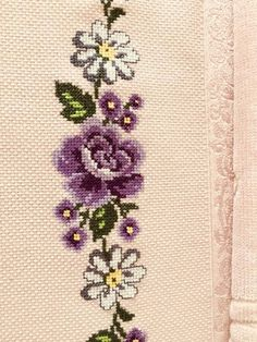milliemadge's media content and analytics Cross Stitching, Cross Stitch Embroidery, Cross Stitch Patterns, Cross Stitch Rose, Cross Stitch Flowers, Hand Embroidery Flowers, Bargello, Needlepoint, Embroidery Designs
