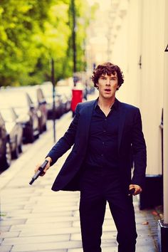 """John: """"shouldn't we call the police?"""" *boom boom* Sherlock: """"their on their way."""""""