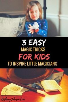 All kids love magic tricks. And learning optical illusions can boost confidence in kids that otherwise may be afraid of the spotlight. If your kid has performance anxiety, show him how to perform simple magic tricks to dazzle friends and family and inspir How To Do Magic, Learn Magic Tricks, Magic Tricks For Kids, Easy Magic, Simple Magic, Magic Illusions, Optical Illusions, Art Optical, All Kids