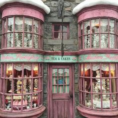 """@the.real.maggie.shepherd on Instagram: """"@art.istic.licence Madam Puddifoot's tea rooms, Hogsmead, Scotland #madampuddifoot #tearooms #shop #shopfront #scottland #britain…"""""""