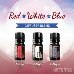 This patriotic diffuser blend is uplifting, fresh, and slightly sweet. The scent is not overpowering and and can be used with confidence at any gathering or any time of day. Give it a try on the Fourth of July!
