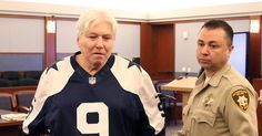 Cowboys fan facing death penalty for double murder shows up to sentencing in Tony Romo jersey