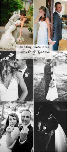 Couple wedding photo poses and ideas  #weddingideas #weddingphotos #wedding / http://www.deerpearlflowers.com/wedding-photo-ideas-and-poses/