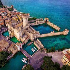 Sirmione Castle, Lombardy...