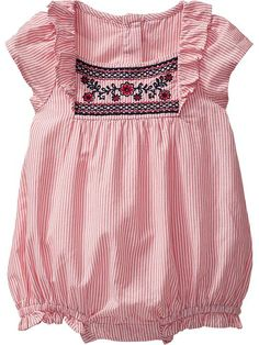 Little onesies like this make me want to have a baby so I can dress her in the cutest clothes ever!