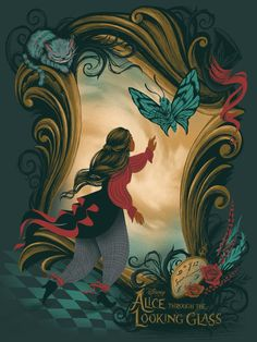 #DisneyAlice Artist: Stacey Aoyama // Exhibition: Alice Through the Looking Glass Art Showcase (Presented by Hero Complex Gallery and Disney Fine Art)