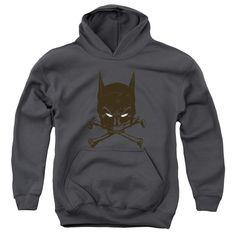 Batman: Bat And Bones Youth Hoodie