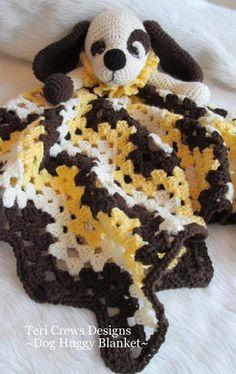 New Dog Huggy Blanket Crochet Pattern